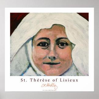 St. Thérèse of Lisieux Poster