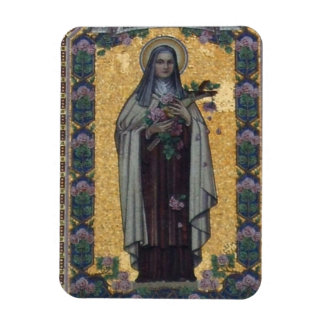 St Therese of Lisieux Vinyl Magnets