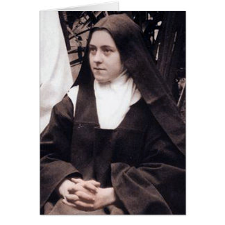 St Therese of Lisieux, The Little Flower Card