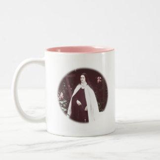 St. Therese of Lisieux Two-Tone Coffee Mug