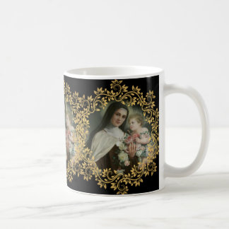 St. Therese of the Child Jesus Little Flower Coffee Mug