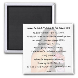 St Therese Refrigerator Magnet