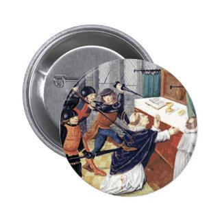 St. Thomas a Becket 2 Inch Round Button