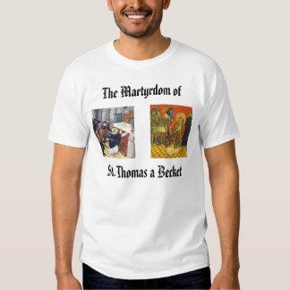 St. Thomas a Becket, thomasbecketmartyrdom250, ... Tee Shirt
