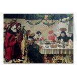 St. Thomas Aquinas  and Louis IX Greeting Cards