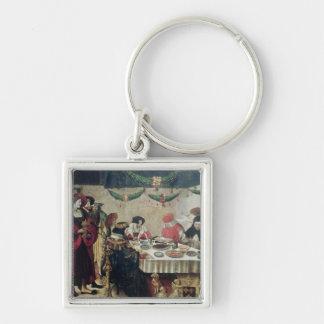 St. Thomas Aquinas  and Louis IX Keychain