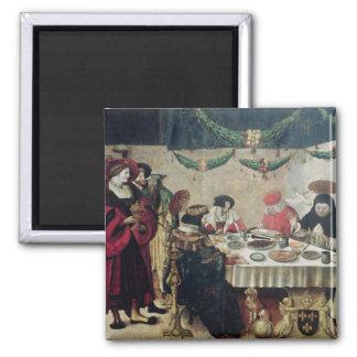 St. Thomas Aquinas  and Louis IX Magnet