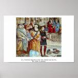 St. Thomas Aquinas And The Heretics Detail Print