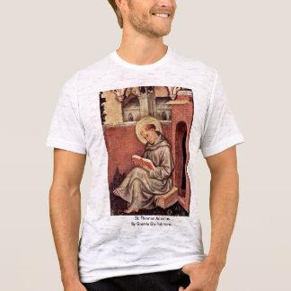 St. Thomas Aquinas By Gentile Da Fabriano T-Shirt