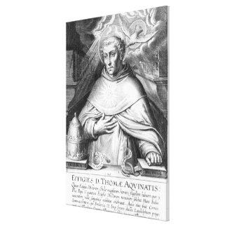 St. Thomas Aquinas Canvas Print
