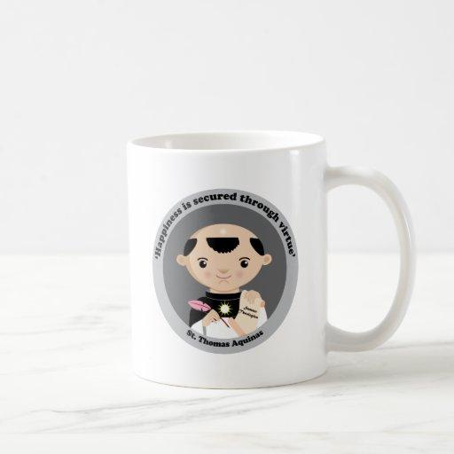 St. Thomas Aquinas Classic White Coffee Mug
