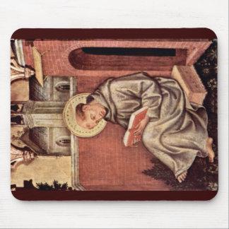St Thomas Aquinas de Gentile da Fabriano Tapete De Ratones