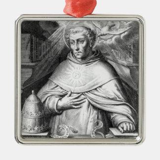 St. Thomas Aquinas Metal Ornament