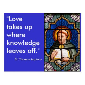 St. Thomas Aquinas Postcard