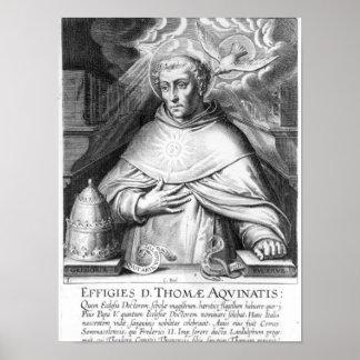 St Thomas Aquinas Póster