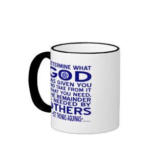 St. Thomas Aquinas Quote Mug