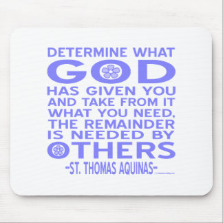 St Thomas Aquinas Tapetes De Raton