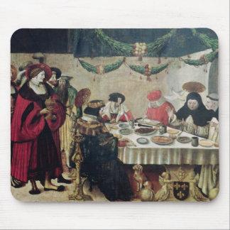 St Thomas Aquinas y Louis IX Tapete De Ratones