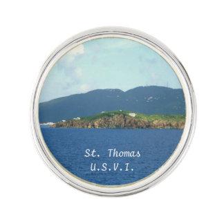 St. Thomas Arrival Pin