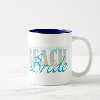 St Thomas Beach Bride Coffee Mug