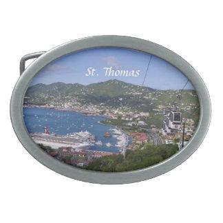 St Thomas Belt Buckle