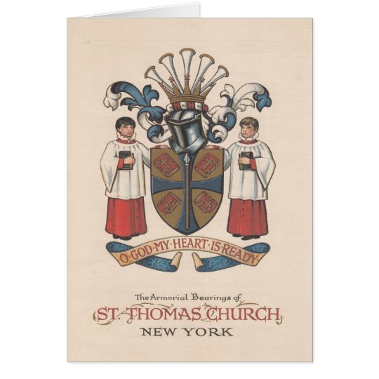 St. Thomas Church, New York, Program Cover