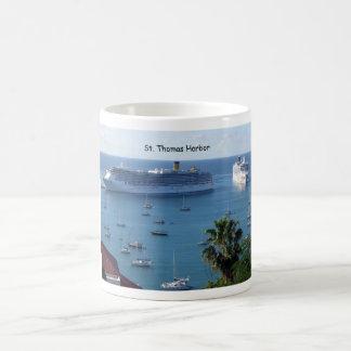 St. Thomas Harbor Classic White Coffee Mug