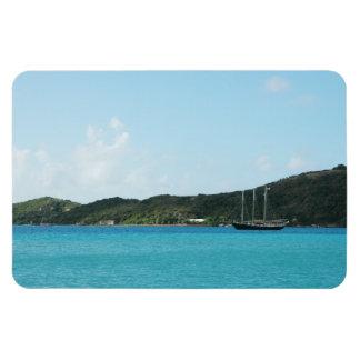 St Thomas, Islas Vírgenes de los E.E.U.U. Iman Rectangular