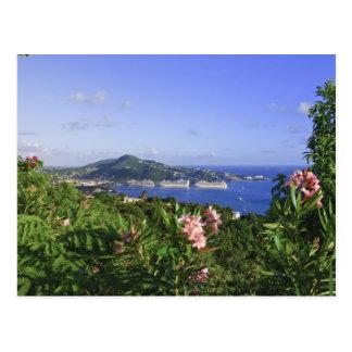 St Thomas, Islas Vírgenes de los E.E.U.U. Tarjeta Postal