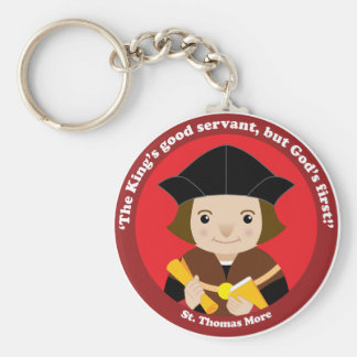 St. Thomas More Keychain
