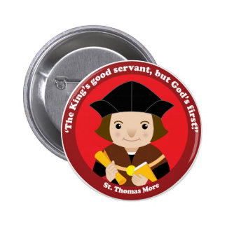 St. Thomas More Pinback Button
