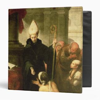 St. Thomas of Villanueva Distributing Alms, 1678 Binder