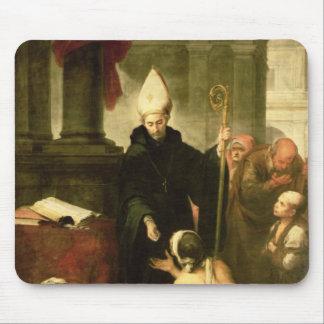 St. Thomas of Villanueva Distributing Alms, 1678 Mouse Pad