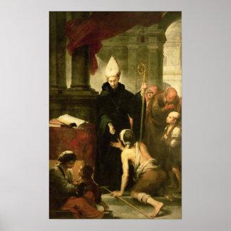 St. Thomas of Villanueva Distributing Alms, 1678 Poster