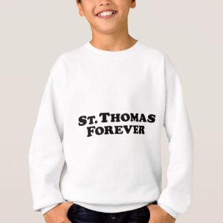 St Thomas para siempre - básico Sudadera