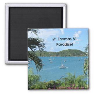 St Thomas Paradise Refrigerator Magnet