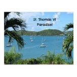 St. Thomas, Paradise! Post Cards