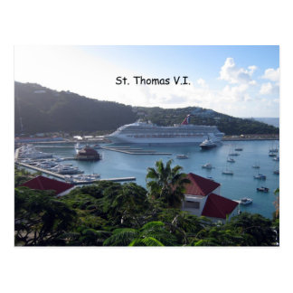 St Thomas Post Card