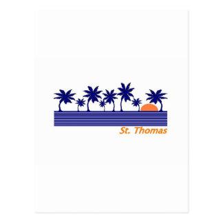 St. Thomas Postcard