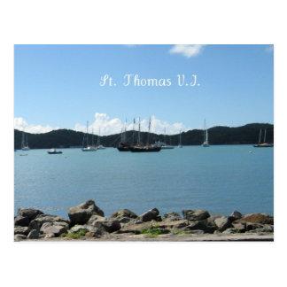 St Thomas Postcard