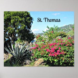 St. Thomas Poster