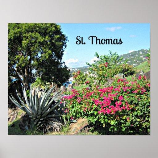 St. Thomas Print
