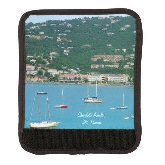 St. Thomas Sailboats Luggage Handle Wrap