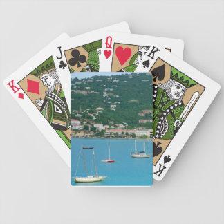 St. Thomas Sailboats Playing Cards