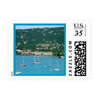 St. Thomas Sailboats Postage