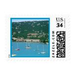 St. Thomas Sailboats Stamps