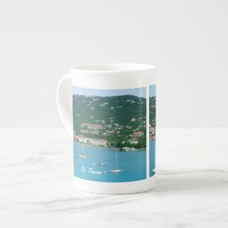 St. Thomas Sailboats Tea Cup