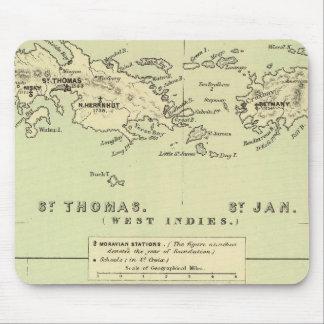 St Thomas, St enero, ladrón del St Mousepads