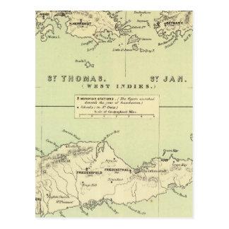 St Thomas, St enero, ladrón del St Tarjetas Postales