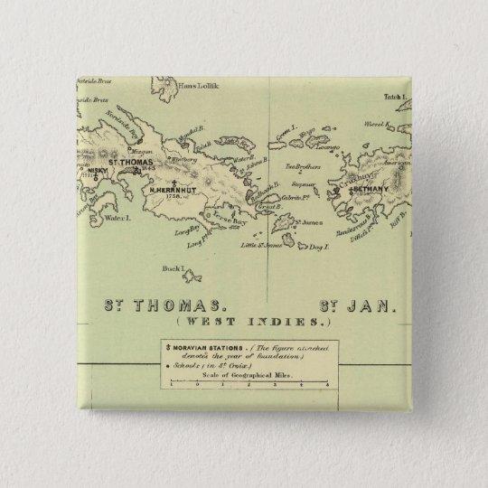 St Thomas, St Jan, St Crook Button